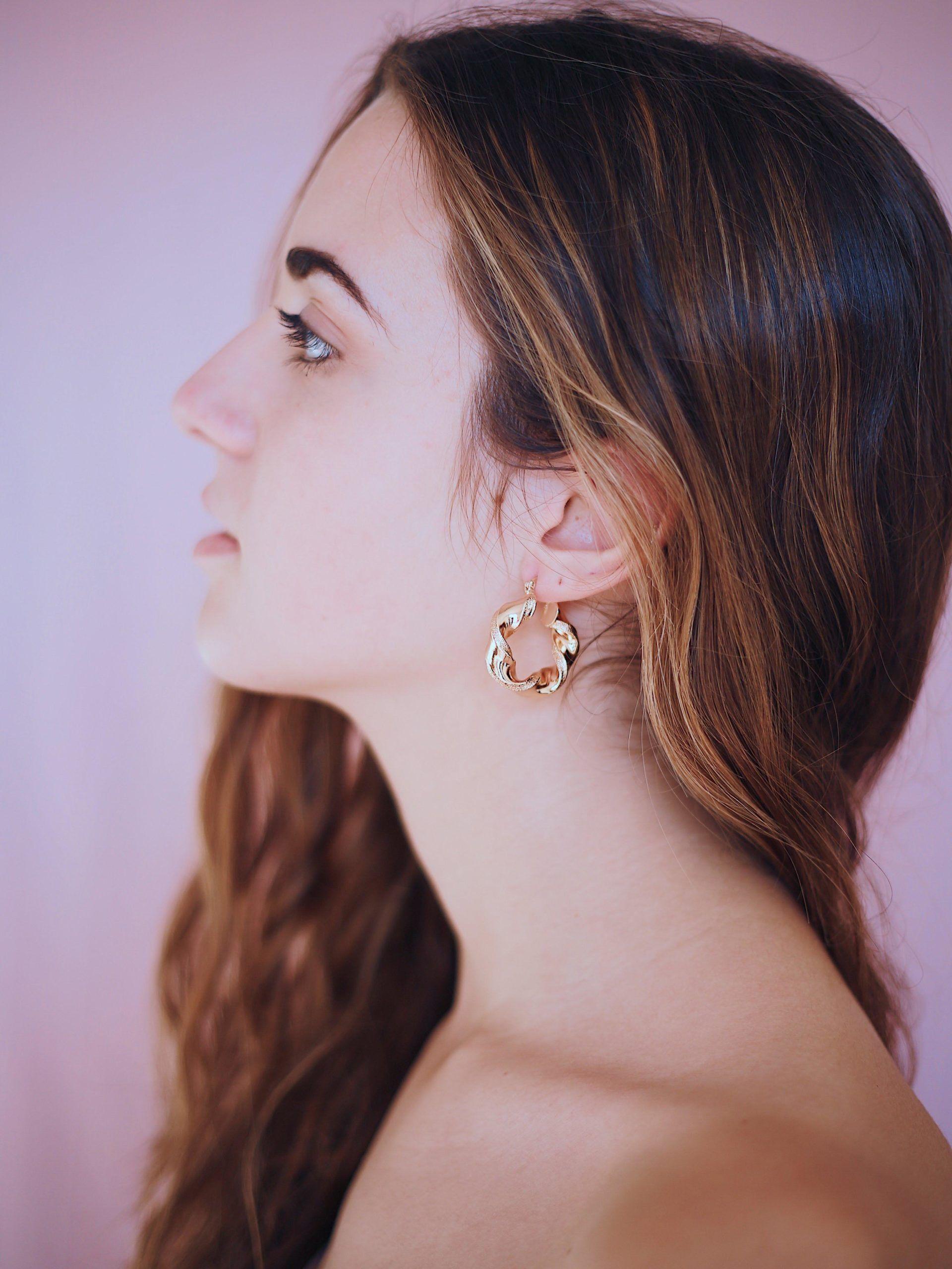 Earthshine Hoop Earrings