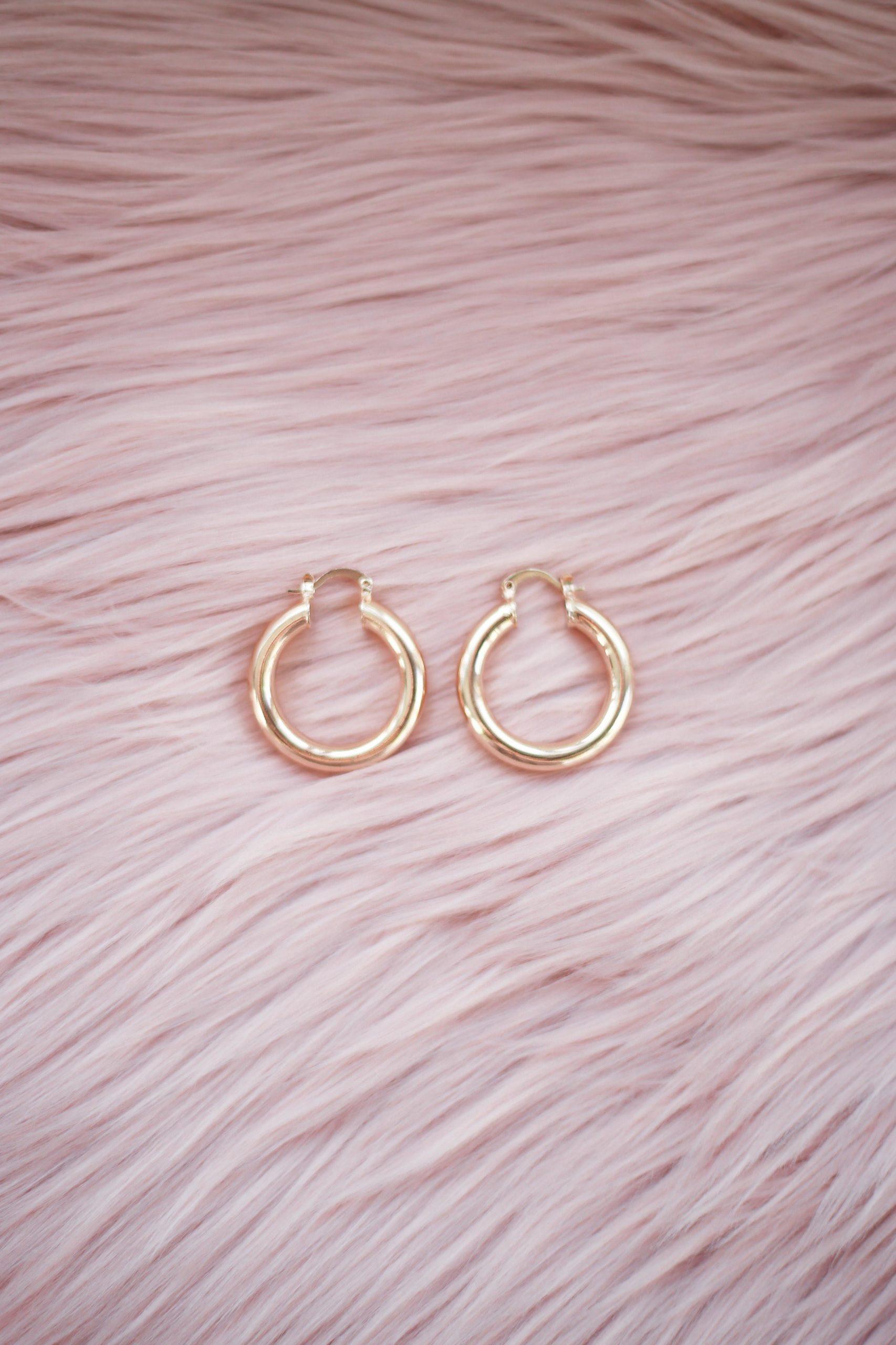 Flawless Hoop Earrings
